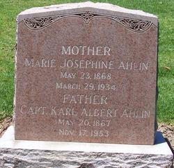 Marie Josephine Ahlin
