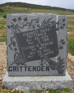 Elizabeth <i>Wareing</i> Crittenden