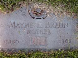 Mayme Ethel <i>Haddock</i> Braun