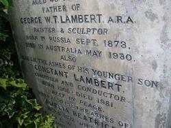 George W.T. Lambert
