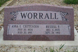 Anna Leone <i>Crittenden</i> Worrall