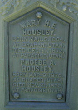 Mary Harriet Elizabeth Housley