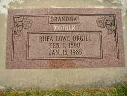 Rhea <i>Lowe</i> Orgill