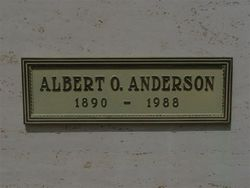 Albert O. Andy Anderson