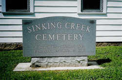 Sinking Creek Cemetery