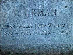 Sarah Badley <i>MacArthur</i> Dickman