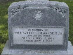 CPL William Hazelett Clarkson, Jr