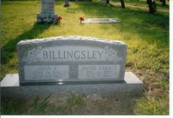 Annie <i>Barnes</i> Billingsley