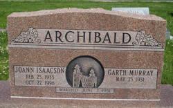 Joann <i>Isaacson</i> Archibald