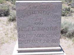 J. E. Boone