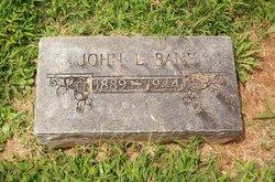 John L Bane
