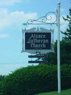 Alsace Lutheran Church Cemetery