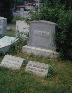 Minnie <i>Schoenberg</i> Marx