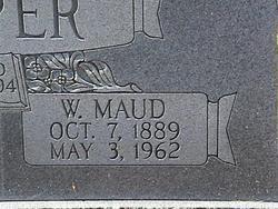 Willie Maud <i>Weaver</i> Hopper
