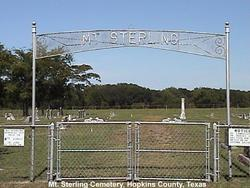 Mount Sterling Cemetery