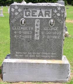 Elizabeth Hannah <i>Parlett</i> Gear