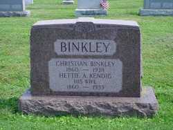 Hettie A <i>Kendig</i> Binkley