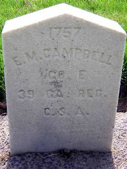 Pvt Enos Mitchell Campbell