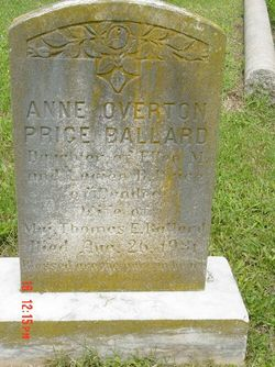 Anne Overton <i>Price</i> Ballard
