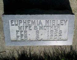 Euphemia <i>Nibley</i> Maughan