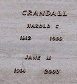 Jane Marie <i>Kerwood</i> Crandall