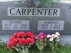 Martha Mabra <i>Warren</i> Carpenter