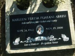 Karleen Teresa <i>Pualani</i> Abreu