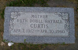 Ruth <i>Doull Hayball</i> Curtis