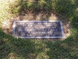 Capt George H Archbald