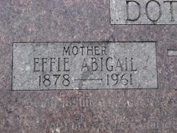 Effie Abigail <i>Swepston</i> Dotson