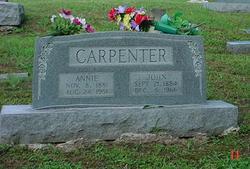 Annie Catherine <i>Simpson</i> Carpenter