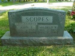 Mildred E. <i>Walker</i> Scopes