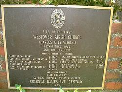 Westover Parish Church Cemetery