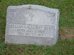 Lyllian <i>Galloway</i> Byrd