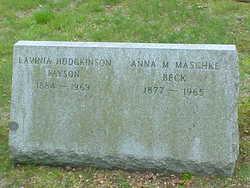 Anna M. <i>Payson</i> Beck