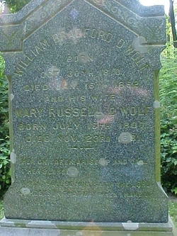 Mary <i>Russell</i> D'Wolf