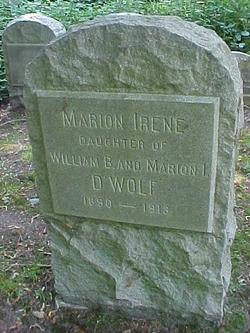 Marion Irene D'Wolf