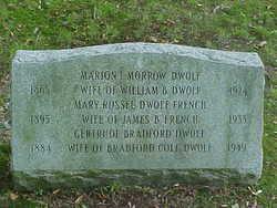Marion <i>Morrow</i> D'Wolf