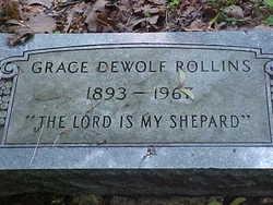 Grace <i>DeWolf</i> Rollins