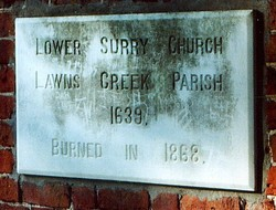 Lower Surry Cemetery