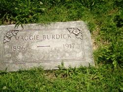 Margaret Rebecca Maggie Burdick