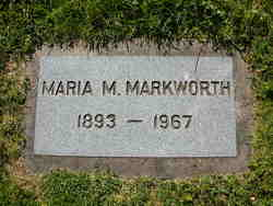 Maria Mamine <i>Rohwer</i> Markworth