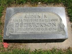 Alden Robert Braithwaite Dedrickson