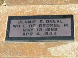 Jennie <i>Edmonds</i> Oneal