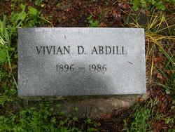 Vivian D Abdill