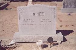 Marie <i>Edwards</i> Haines