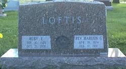 Rev Marlon Gerald Loftis