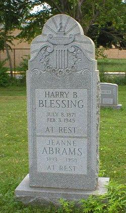 Harry B Blessing