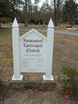 Immanuel Episcopal Church Cemetery