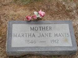 Martha Jane <i>Webb</i> Havis
